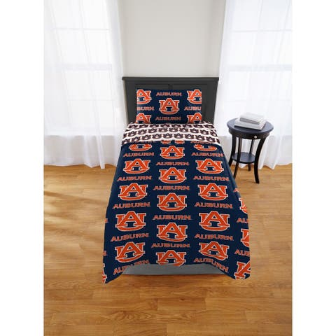 COL 808 Auburn Tigers Twin Bed in a Bag Set