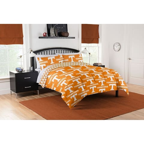 COL 875 Tennessee Vols Queen Bed in a Bag Set