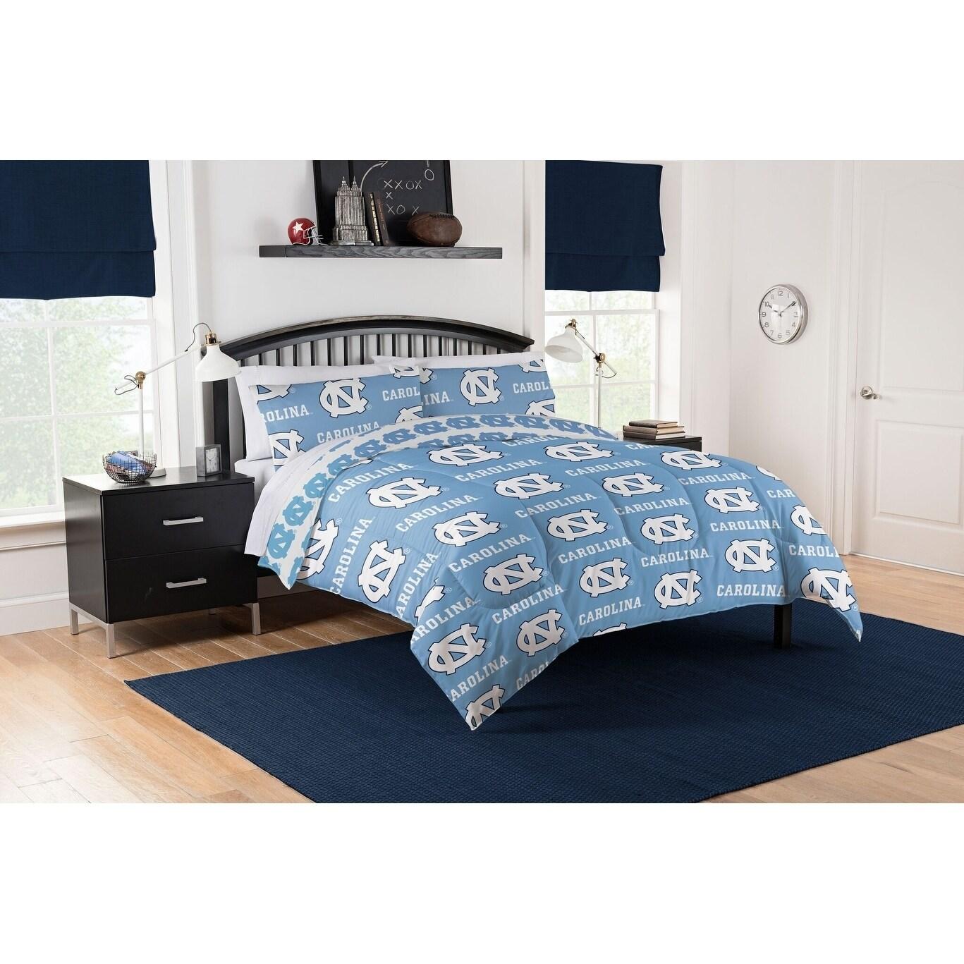 Col 875 Unc Tar Heels Queen Bed In