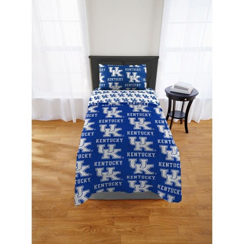 COL 863 Kentucky Wildcats Twin/XL Bed in a Bag Set