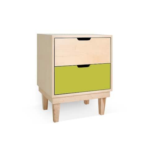 Taylor & Olive Marigold 2-drawer Nightstand