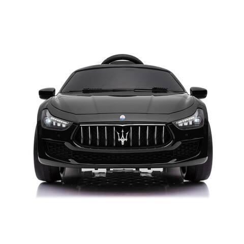 Maserati Ghibli 12V Black