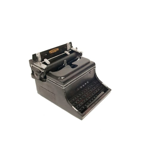 1945 Triumph German Typewriter Handmade metal