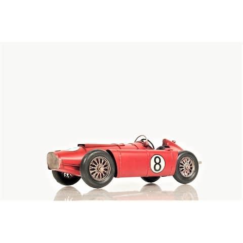 Formular One Racer Ferrari 1954 Lancia Model