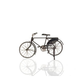 Handmade Vintage Metal Black Bicycle Decor