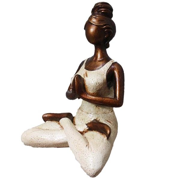 Yoga Woman Figurine