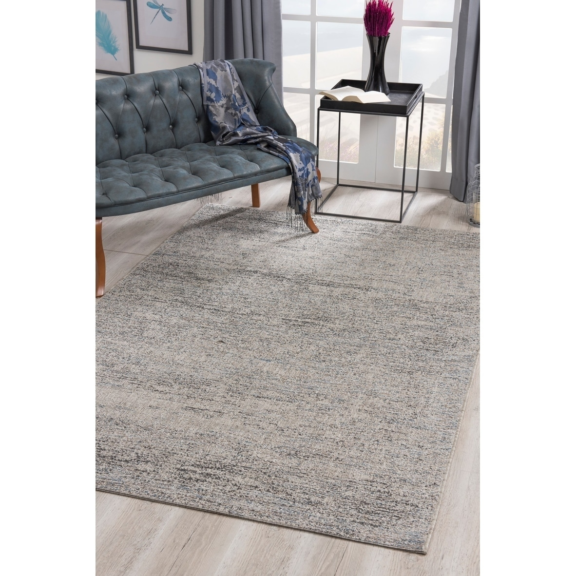Shop Black Friday Deals On Rug Branch Vista Modern Indoor Outdoor Area Rug And Runner Blue Overstock 29893077