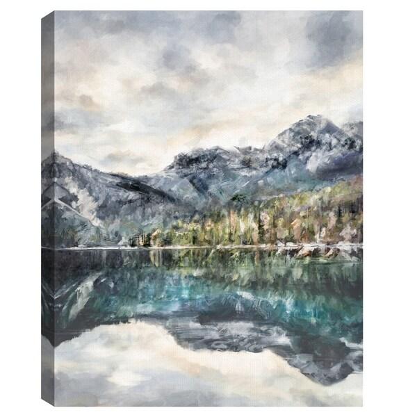 Lake Reflections by Studio Arts Canvas Art
