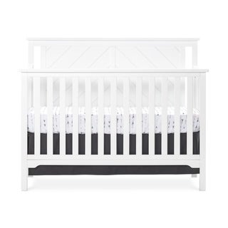 Hampton 4-in-1 Convertible Baby Crib, Flat Top by Forever Eclectic