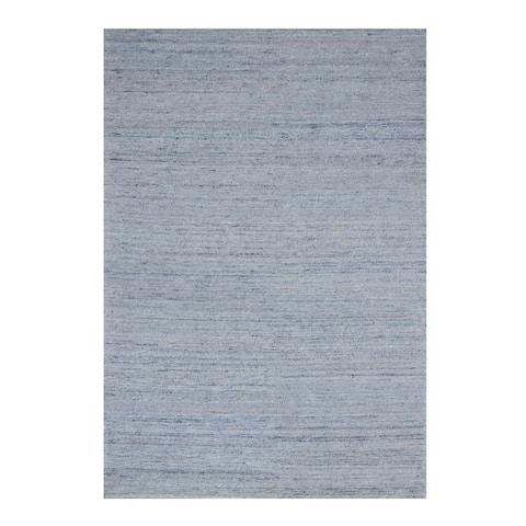 Blue Contemporary Mirage Rug, 3' x 5' - 3' x 5'