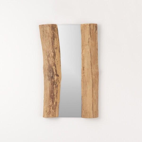 Aurora Home Teak Mirror