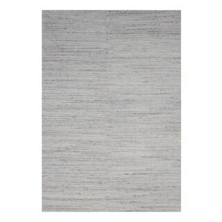 Natural Grey Contemporary Mirage Rug, 9' x 12' - 9' x 12'
