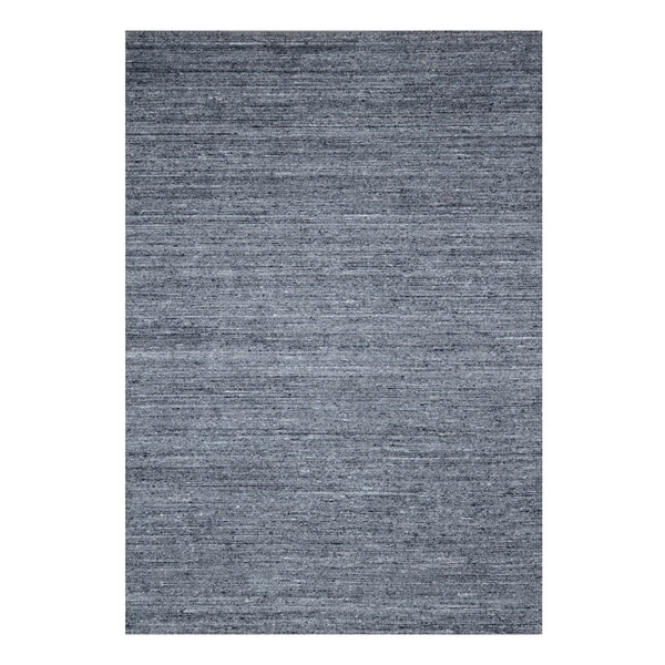 Dark Grey Contemporary Rome Rug, 8' x 10' - 8' x 10'