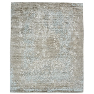 "Samantha Contemporary Handmade Area Rug - 9' 0"" x 12' 0"""