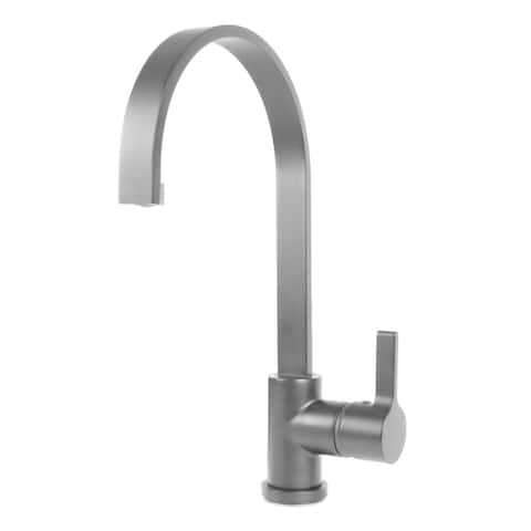 "Coral 16"" Single Handle High Arc 360 Degree Swivel Kitchen Sink Faucet"