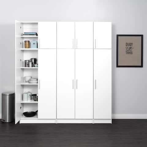"Prepac Elite Storage Cabinet Set - 80"" W x 89"" H x 16"" D"