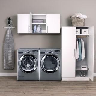 """Prepac Elite Storage Cabinet Set E - 2 pc - 86"""" W x 89"""" H x 20"""" D"""