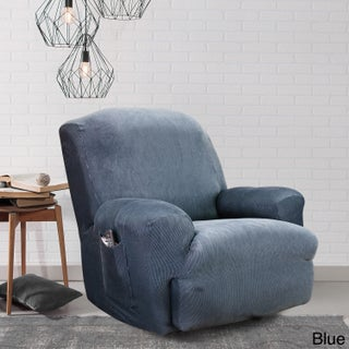 Sure Fit Stretch Stripe Recliner Slipcover (5 options available)