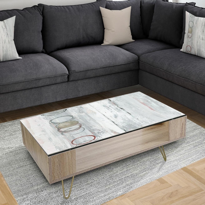 - Shop Designart 'Whitewashed Syrah' Traditional Coffee Table