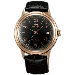 Link to Orient Men's FAC00006B0 Bambino 2nd Generation Automatic Black Leather Watch Similar Items in Women's Watches