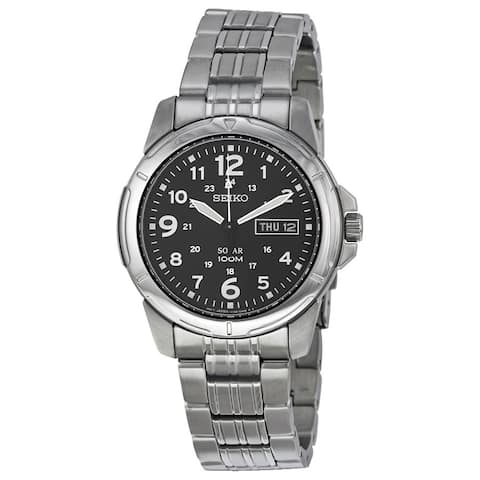Seiko Men's SNE095 Solar Stainless Steel Watch