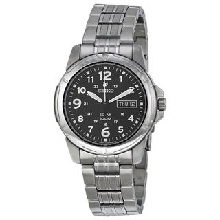 Link to Seiko Men's SNE095 Solar Stainless Steel Watch Similar Items in Men's Watches