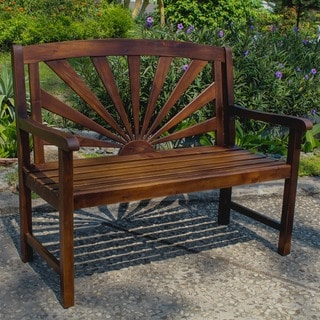 Link to International Caravan Highland Sapporo Garden Bench Similar Items in Patio Furniture