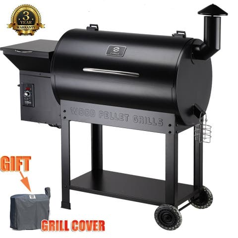 Moda Z Grill-7002B Outdoor BBQ Smokers with Digital Controller