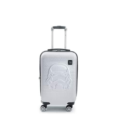 FUL Star Wars Storm Trooper Embossed 21in Spinner Suitcase - 21 inch