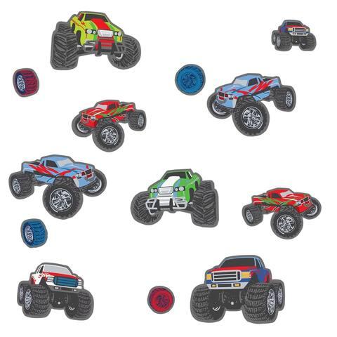Mega Trucks Wall Stickers