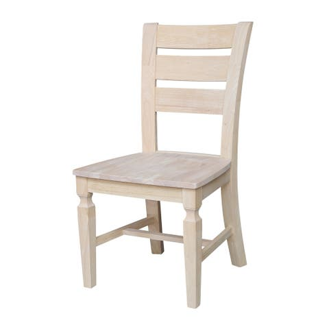 Vista Ladderback Chairs - Set of Two