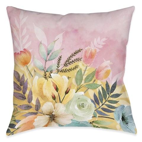Sunday Morning Outdoor Pillow