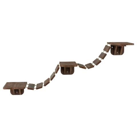 Trixie Wall Mounted Cat Bridge Brown