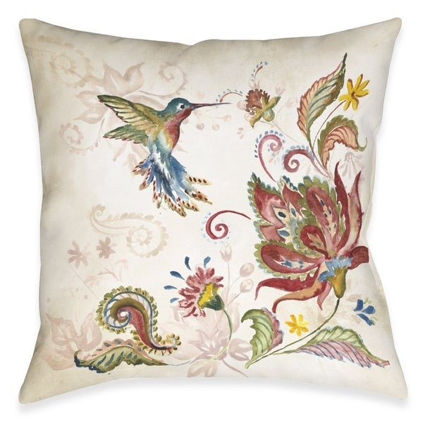 Boho Spice Outdoor Pillow. Opens flyout.