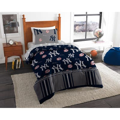 MLB 808 New York Yankees Twin Bed In a Bag Set