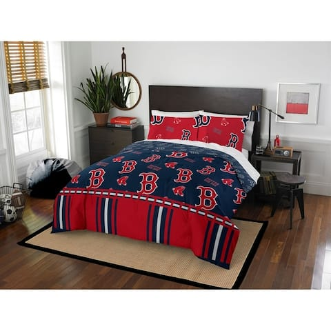 MLB 864 Boston Red Sox Full Bed in a Bag Set