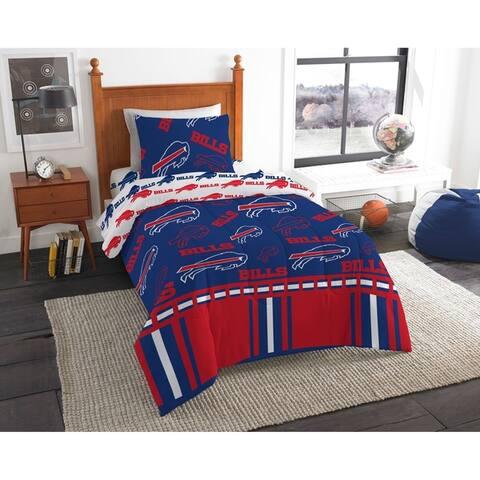 NFL 808 Buffalo Bills Twin Bed In a Bag Set