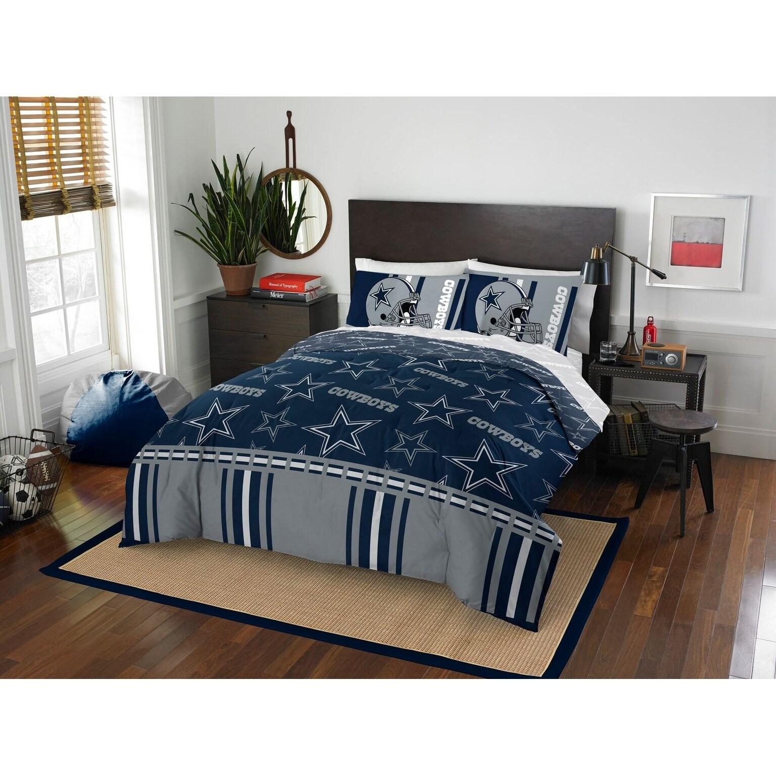 Nfl 875 Dallas Cowboys Queen Bed