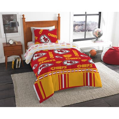 NFL 808 Kansas City Chiefs Twin Bed In a Bag Set
