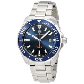 Link to Tag Heuer Men's WAY101C.BA0746 Aquaracer Stainless Steel Watch Similar Items in Men's Watches