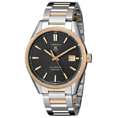 Tag Heuer Men's WAR215E.BD0784 Carrera Automatic Two-Tone Stainless Steel Watch