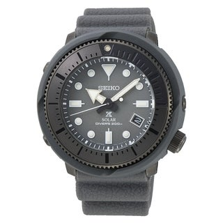 Link to Seiko Men's SNE537 Prospex Street Sports Grey Silicone Watch Similar Items in Men's Watches