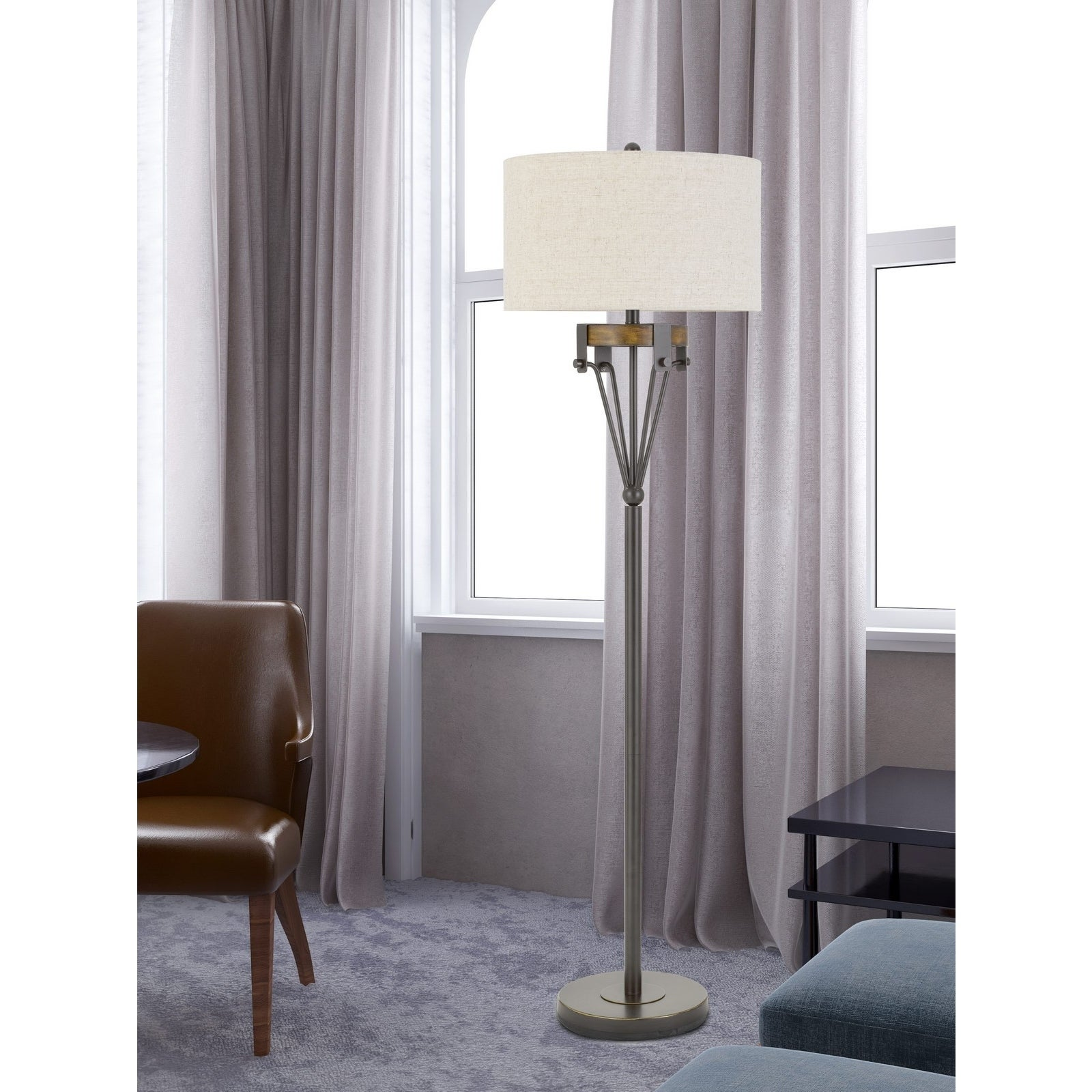 Shop Kirkcaldy Metal Floor LAmp - Overstock - 29905214