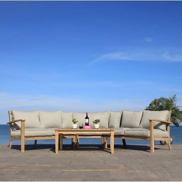 Safavieh Couture Santa Cruz Patio Coffee Table