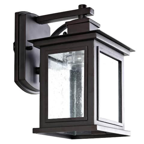 """Safavieh Gorgen Outdoor Wall Lantern - 6.6""""x7.5""""x9.5"""""""