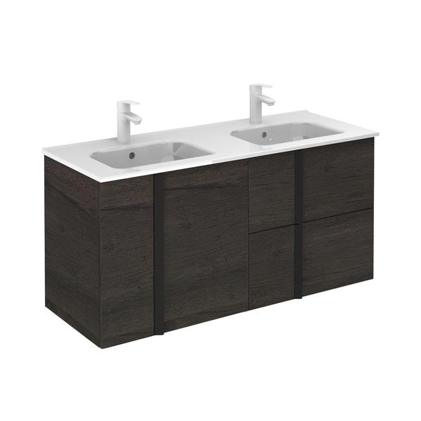 Unit 48'' 2D/2DR. ONIX Essence Wenge with Ceramic Top