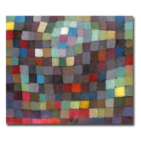 May Picture by Paul Klee Gallery Wrapped Canvas Giclee Art (24 in x 32 in)