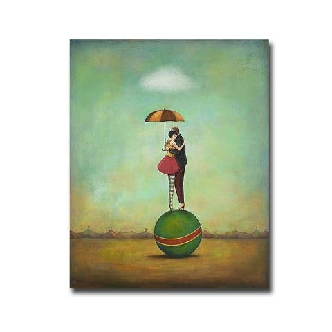 Circus Romance by Duy Huynh Gallery Wrapped Canvas Giclee Art (30 in x 24 in)