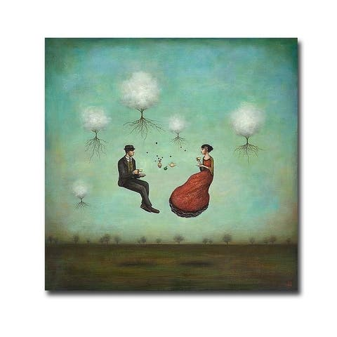Gravitea for Two by Duy Huynh Gallery Wrapped Canvas Giclee Art (30 in x 30 in)