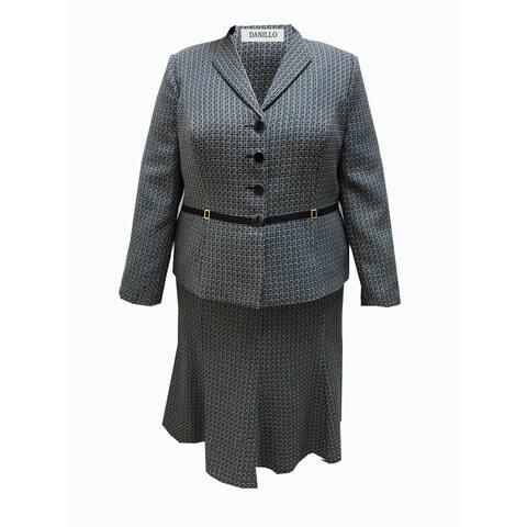 Danillo Skirt Suit Plus Size style#125339